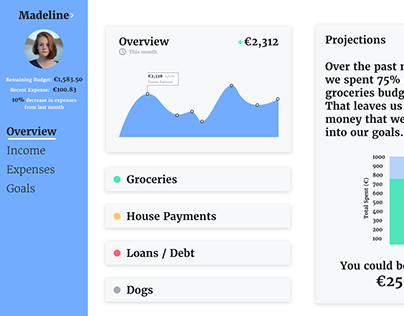 Finance Management Dashboard