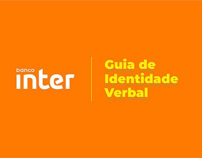 Guia de Identidade Verbal|Banco Inter