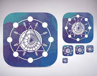 Icon for mobile app Horoscope