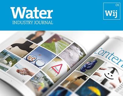 Water Industry Journal Brand Identity