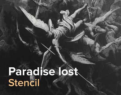 Paradise Lost Stencil