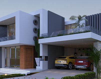 Casa Tipo 3 ( Imagens exterior )