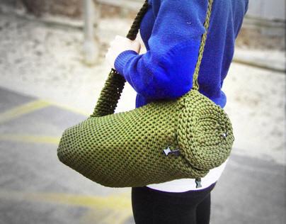 Crochet Paracord Beach Bag