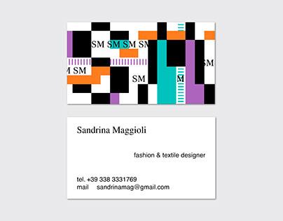 Sandrina Maggioli - fashion & textile designer