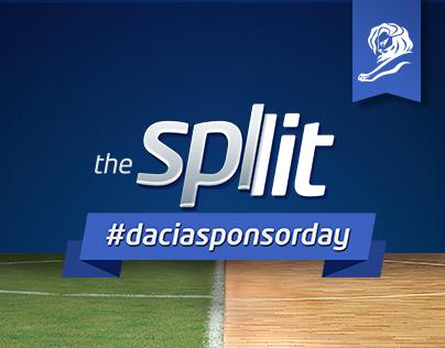 Dacia Sponsor Day - The Split