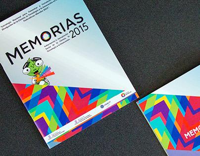 Revista de Memorias 2015 CCyTEM