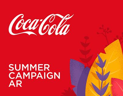 Coca-Cola. Summer campaign. Augmented reality