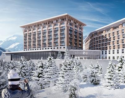 Hotel 4B, Andermatt, Switzerland