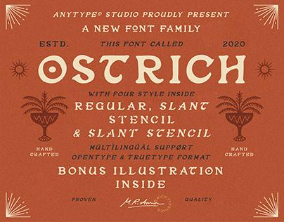 Ostrich Typeface