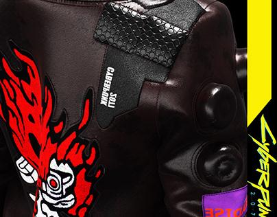 Virtual Garment Design // CyberPunk Jacket
