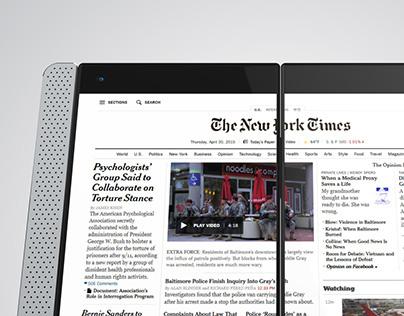Orthus Dual Screen Smartphone Concept