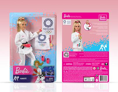 Barbie x Tokyo Olympics 2020