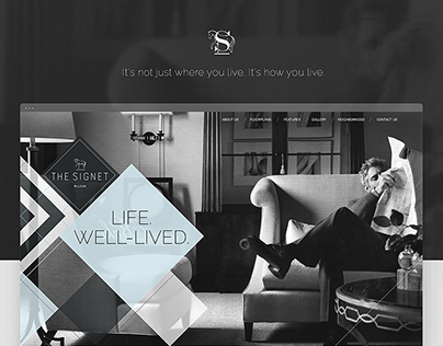 The Signet Luxury Homes // Web