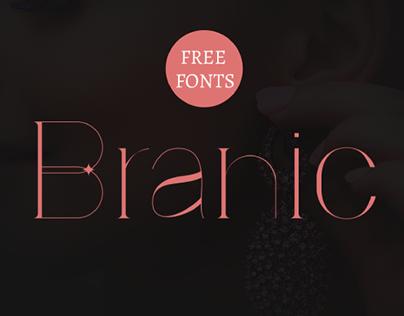 BRANIC - FREE ELEGANT SERIF FONT