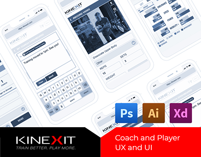 Kinexit Coach and Player UI
