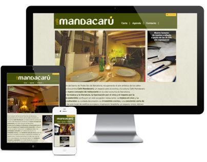 Mandacarú website