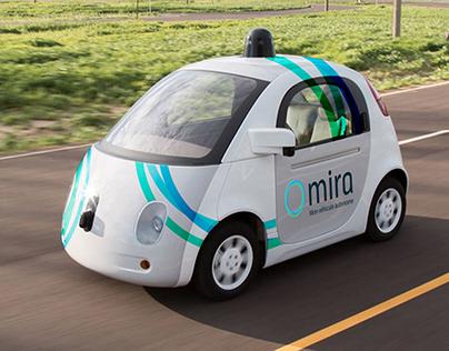 Projet Mira, la voiture autonome