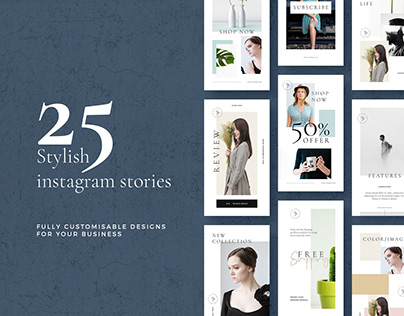 Stylish Instagram Stories Pack Vol02