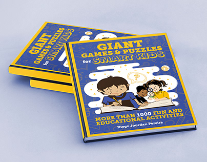Book Jacket: Giant Games & Puzzles for Smart Kids