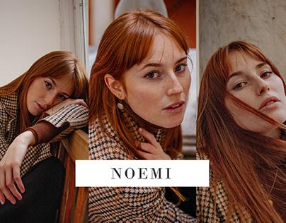 Shooting day with Noemi