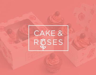 Cake & Roses - Cupcake store Branding