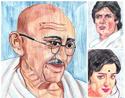Indian Politician & Bollywood Actors