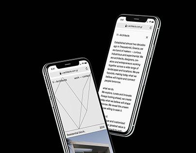 V-Architects website