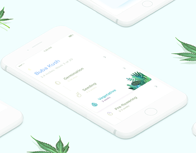 LEAF Growbox Mobile Application