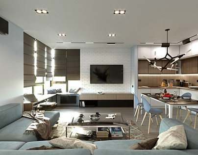 Project L110 Apartment in Kyiv