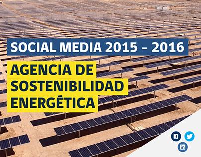Social Media Agencia de Sostenibilidad Energética