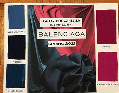 Balenciaga Inspiration Project