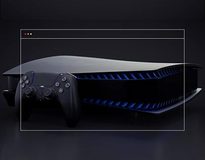 PlayStation 5 — website redesign