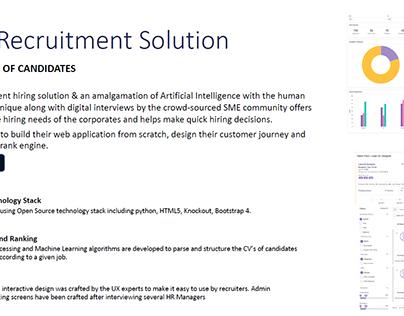 AI Based Recruitment Solution