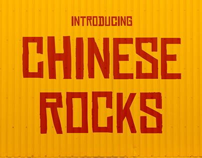 Free Font: Chinese Rocks