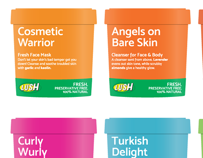 LUSH Concept Packaging