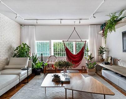 Taquinho Apartment by Lez. Arquitetura