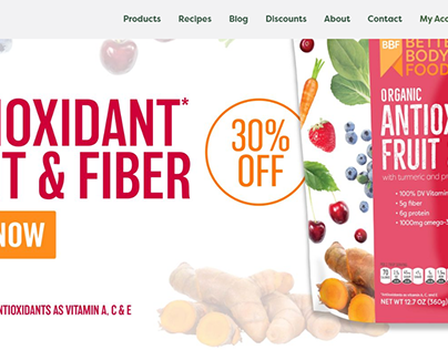 BetterBody Foods eCommerce