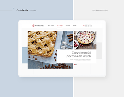 Ciastolandia - Branding and Web Design