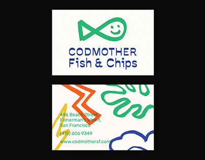 Codmother Fish & Chips – Branding