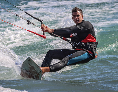 Kite and wind surfing