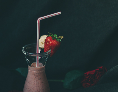 One Page Recipes | Breakfast Smoothie | Editorial Photo