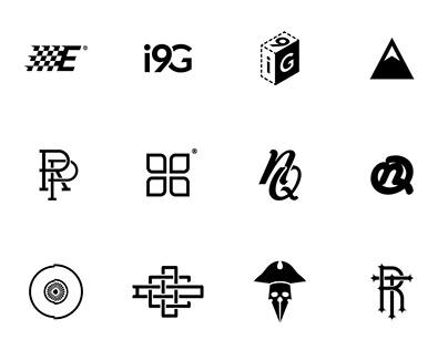 Logo Marks & Monograms - Set1