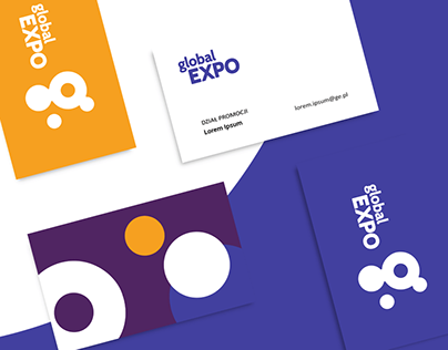 GLOBAL EXPO Logo and visual identity design