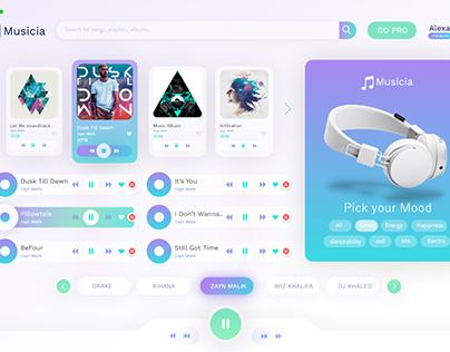 Music App Frontend Development