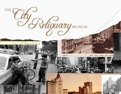 The City Reliquary Museum- Postcard Design