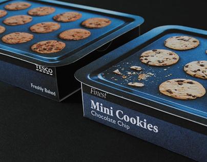Tesco Cookies Branding