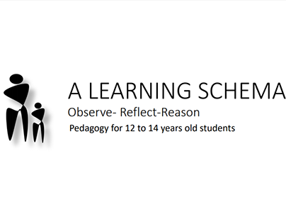 A learning schema: pedagogy for 12 to 14-year old's