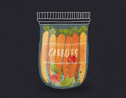 Pickled veggies