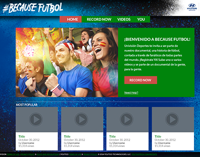 Univision | Hyundai | World Cup - Because Futbol