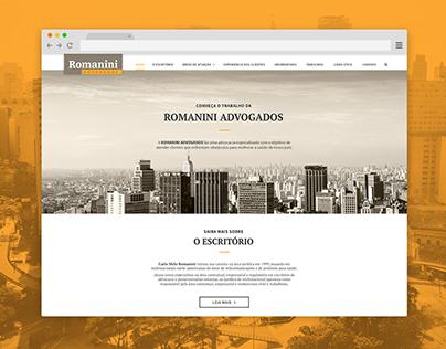 Site responsivo | ROMANINI ADVOGADOS